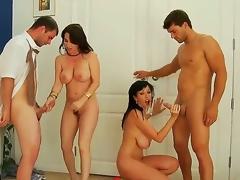 Alia Janine,Ralph Long,Ramon Nomar and RayVeness are enjoying anasty foursome