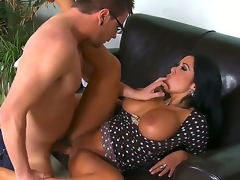 Dane Cross gets seduced into fucking by Aged sexy Sienna West