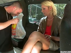 We love horny mammas like Harley Summers who merely get greater amount excited with age! The 10-Pounder loving golden-haired agrees to hop on the bangbus along with another milf to have her moist crack drilled!