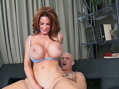No thing would stop u from watching the act with participation of Deauxma and Derrick Pierce if u love to relax with hawt high quality milf porn! See 'em screwing nicely!