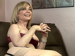 Dia Lewa is about to experience some actually perverted and hot lesbo love and her instructor to be Nina Hartley explains what this hottie is going to do to her.