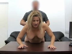 Blond milf dilettante screwed in her sexually sexually excited fur pie