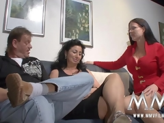 MMV Films sex nanny watches a older couple