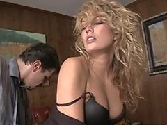 Hot and fashionable Kiara Diane having sex at work