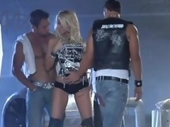 Blonde Milf IS Gangbanged By Lascivious Jocks