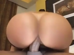 Mature with a hot big gazoo loves anal