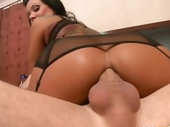 Glamorous MILF Sienna West enjoys ass fucking