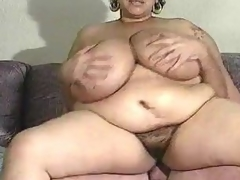 Mature BBW has indeed large mangos