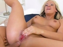 Grab the lotion, and pull up a seat for a spanktastic one-on-one with mature lady Vanessa Gold. This seasoned piece of a-hole receives fucked, and weenie receives sucked. This Babe's a floozy for anal, and can't live out of a gonzo and keeps Mick going untill her blows his load all over her precious rear.